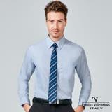 Emilio Valentino 范倫提諾經典條紋長袖襯衫-藍條