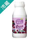 光泉紫色水果優酪乳200ML/瓶