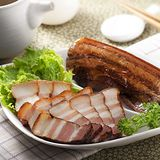 【濎好食品DINGHAO】蔗燻臘肉(350±30g/條)(任選)