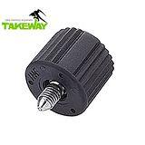 台灣品牌Takeway鉗式腳架用雲台旋鈕T-BK01