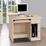 HAPPYHOME西雅圖白橡3.2尺電腦桌5U6-224-961