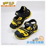 【G.P 快樂護趾童涼鞋】G6962B-45 桃紅色(SIZE:26-30 共三色)