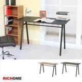 【RICHOME】超值E1板A字工作桌-3色