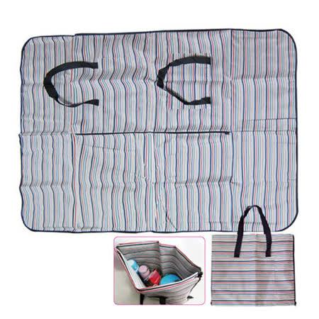 兩用野餐墊購物袋 AK-09011 -friDay購物 x GoHappy