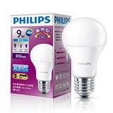 飛利浦LED廣角燈泡-白光(9W)