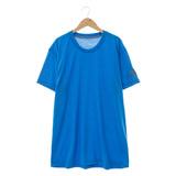 Adidas 男 短袖上衣 藍AK0685
