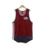 Adidas NBA籃球背心 紅/藍AO2152