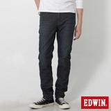 EDWIN 大尺碼 迦績褲 AB牛仔保溫褲-男-原藍磨