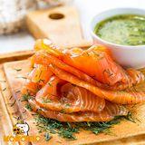 【極鮮配】冷燻鮭魚(100G±10%/包)(任選)