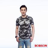 BOBSON 男款迷彩印圖上衣 (25014-42)