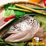 【極鮮配】挪威鮭魚頭(400g±10%/包)(任選)