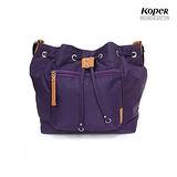 【KOPER】輕甜焦糖系列-Brisk束口斜肩包-幻想紫