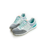 New Balance (女) 復古鞋 灰藍綠WR996II