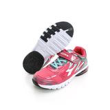 DIADORA (童) 氣墊慢跑鞋 淺綠桃紅DA6AKR3022
