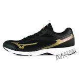 MIZUNO (男) 男路跑鞋 RUSH UP 2 黑-J1GA168350