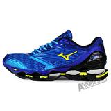 MIZUNO (男) WAVE 男慢跑鞋 WAVE PROPHECY 5 藍-J1GC160047