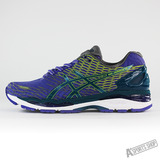 ASICS 男 GEL-NIMBUS 18 LITE-SHOW 慢跑鞋 藍-T60XQ5338