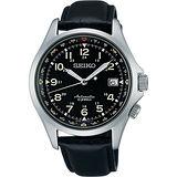 SEIKO 6R15精工23石光輝機械腕錶-黑/40mm 6R15-02N0J(SARG007J)