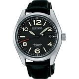 SEIKO 6R15精工23石紳士機械腕錶-黑/40mm 6R15-02R0J(SARG011J)