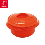 【MULTEE摩堤 鑄鐵鍋系列】10cm迷你陶瓷鍋(橘色)