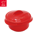 【MULTEE摩堤 鑄鐵鍋系列】10cm迷你陶瓷鍋(紅色)