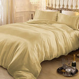 RODERLY 黃金夢-絲緞 加大四件式被套床包組