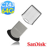 【SanDisk】CZ43 Ultra Fit USB3.0 64GB 隨身牒