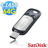 【Sandisk】CZ450 Ultra Type C USB3.1 64G 隨身碟