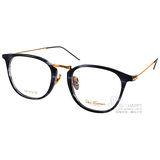 Paul Hueman光學眼鏡 學院風熱銷款 (流線藍-金) #PHF5072A C08