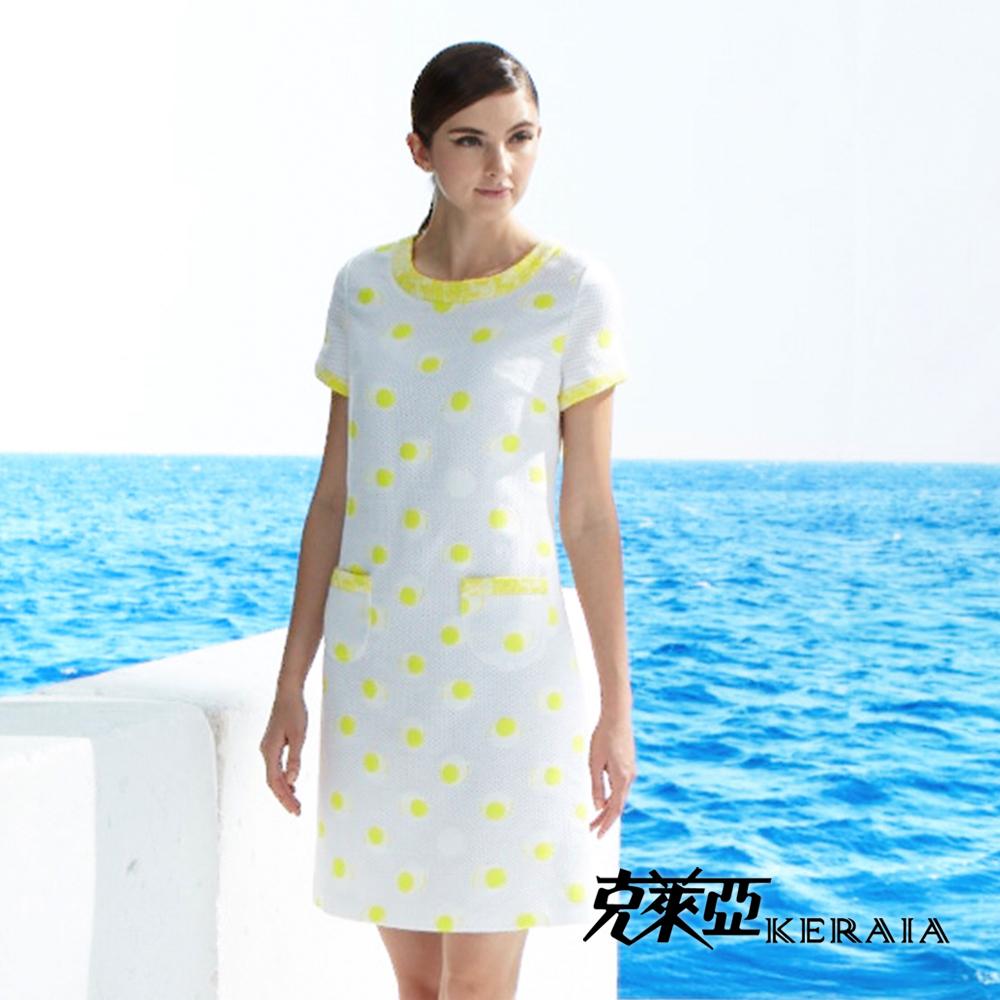 【克萊亞KERAIA】俏麗圓點點洋裝