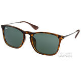 RayBan 太陽眼鏡 人氣經典流行款 (深琥珀) #RB4187F 71071