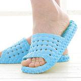 韓版超柔浴室瀝水防滑拖鞋 (女款)- 天空藍