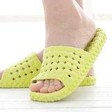 韓版超柔浴室瀝水防滑拖鞋 (女款)- 檸檬綠