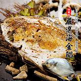 【台北濱江】嚴選特優級海金鯧1條(500~600g/條)
