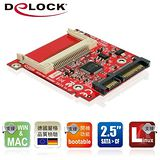 Delock CF card Type I/II to 2.5吋SATA轉接板-91682