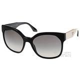 PRADA 太陽眼鏡 完美大框貓眼款 (黑) #PR10R TKF0A7