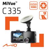 Mio MiVue™ C335 GPS+測速 F2.0大光圈 行車記錄器《單機優惠送靜電貼》