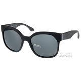 PRADA 太陽眼鏡 完美品味大框貓眼款 (黑) #PR10S 1BO1A1