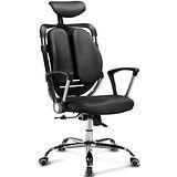 椅吧 流線科技皮面電腦椅/辦公椅