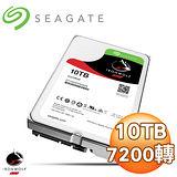 Seagate 希捷 那嘶狼 10TB 7200轉 256MB SATA3 NAS專用硬碟(ST10000VN0004-3Y)