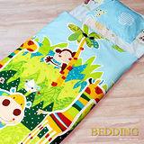 【BEDDING】快樂派對 100%精梳棉舖棉冬夏兩用兒童睡袋