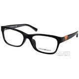 EMPORIO ARMANI光學眼鏡 經典沉穩熱銷款 (黑) #EA3093F 5017