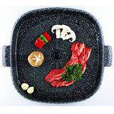 【韓國Joyme】新一代兩用烤盤/不沾鍋烤盤/韓國烤盤(方形)PA022