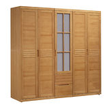 【AS】格倫達6.9尺日式松沐半實木衣櫃
