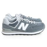 New Balance 男鞋 經典復古鞋 灰藍ML574VIA