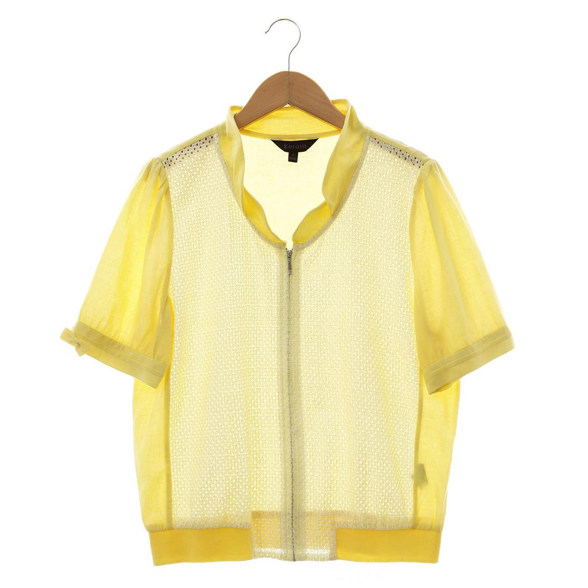 【克萊亞KERAIA】刺繡蕾絲短袖外套