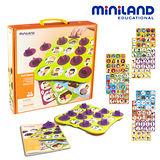 【西班牙Miniland】學齡前配對遊戲組-價值觀養成
