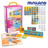 【西班牙Miniland】時間排序養成-好孩子愛乾淨組