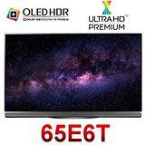 LG 樂金 65型自體發光極黑UHD超4K OLED電視 65E6T/OLED65E6T