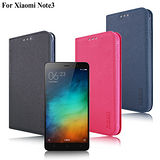 X mart Xiaomi小米 紅米Note3 鍾愛原味磁吸側掀皮套